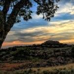 Quanah Sunset - Wichita Mountains Wildlife Refuge