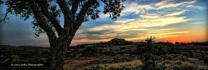 Quanah Sunset - Wichita Mountains Wildlife Refuge