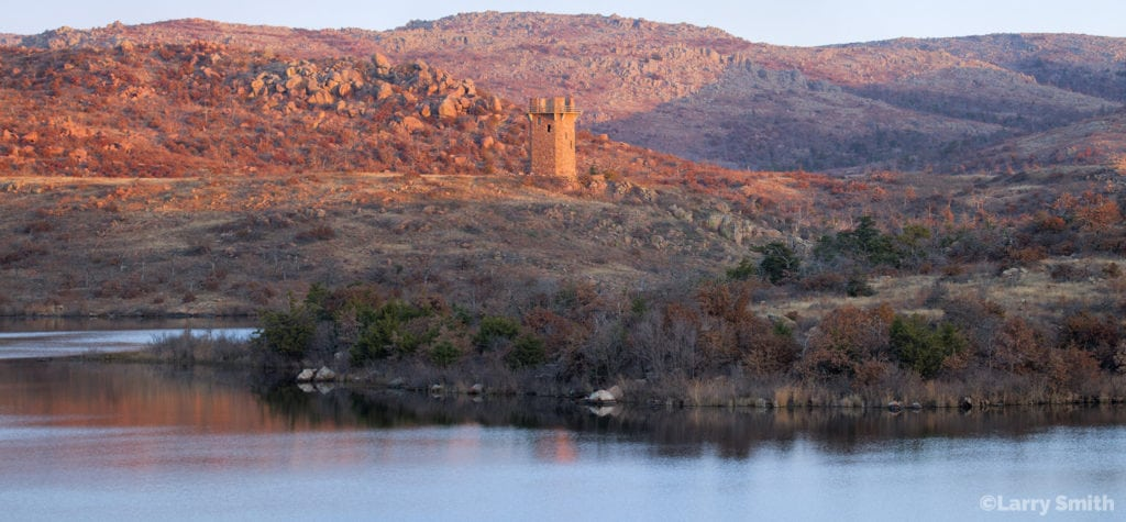 Jed Tower. Wichita Mountains Wildlife Refuge. Photo courtesy of Larry Smith.