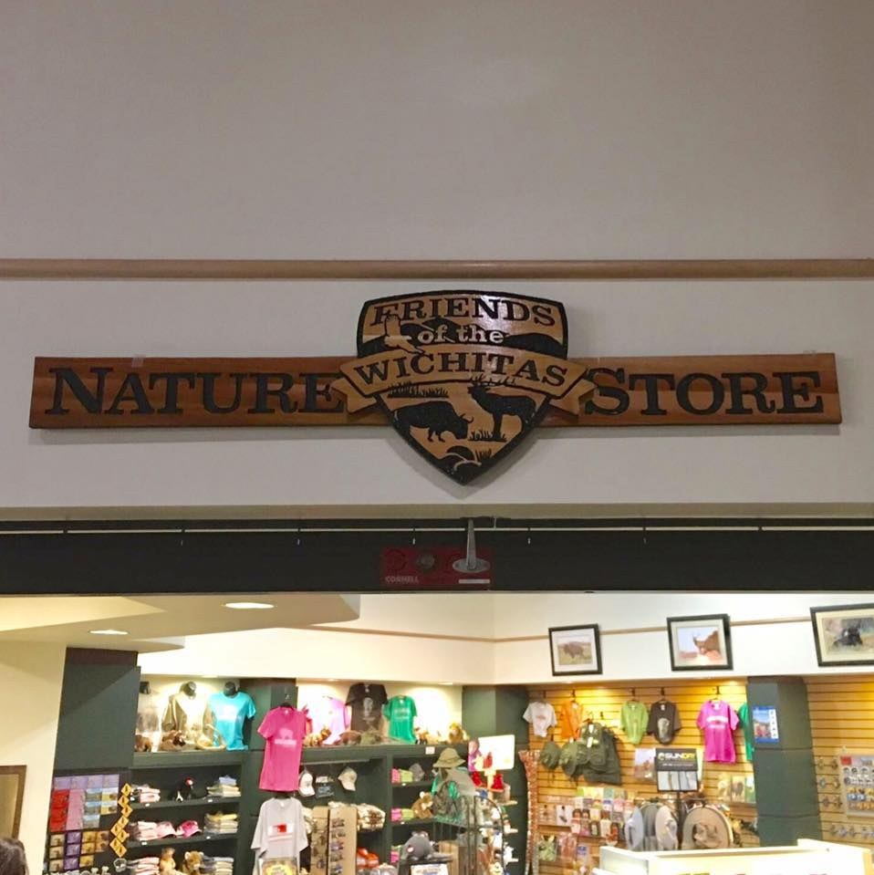 The Nature Store Sign - Wildlife Refuge Visitor Center