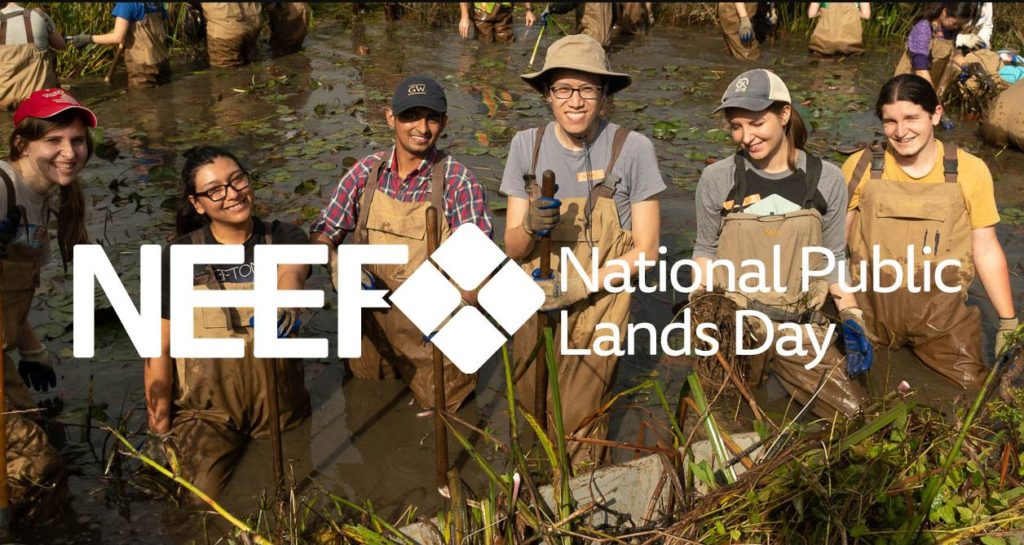 NEEF National Public Lands Day