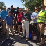 2019 Trail Maintenance Volunteers, Wichita Mountains Wildlife Refuge - Photo by Emelie Stahler