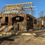 Ferguson House Reconstruction Underway, Wichita Mountain Wildlife Refuge - Photo by Jim Meyer
