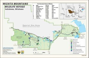 2019 Official Wichita Mountains Trail Map